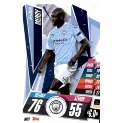 Benjamin Mendy Manchester City MCI7 Match Attax Champions International 2020-21