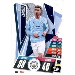 Aymeric Laporte Manchester City MCI8 Match Attax Champions International 2020-21