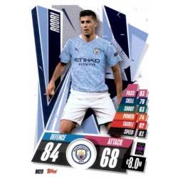 Rodri Manchester City MCI9 Match Attax Champions International 2020-21