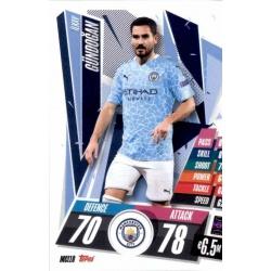 Ilkay Gundogan Manchester City MCI10 Match Attax Champions International 2020-21