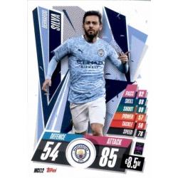 Bernardo Silva Manchester City MCI12 Match Attax Champions International 2020-21