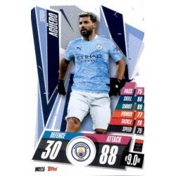 Sergio Aguero Manchester City MCI15 Match Attax Champions International 2020-21