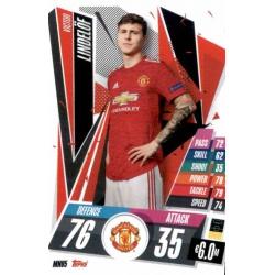 Victor Lindelof Manchester United MNU5 Match Attax Champions International 2020-21