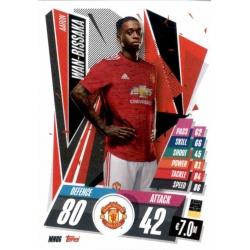 Aaron Wan-Bissaka Manchester United MNU6 Match Attax Champions International 2020-21