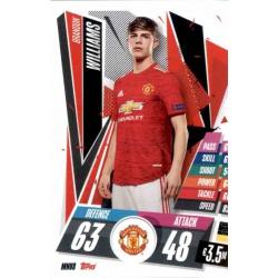 Brandon Williams Manchester United MNU8 Match Attax Champions International 2020-21