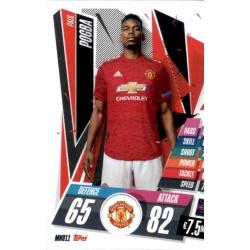 Paul Pogba Manchester United MNU11 Match Attax Champions International 2020-21