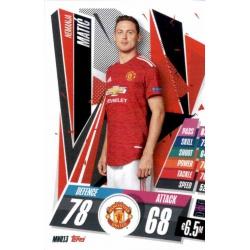 Nemanja Matic Manchester United MNU13 Match Attax Champions International 2020-21