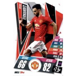 Bruno Fernandes Manchester United MNU16 Match Attax Champions International 2020-21