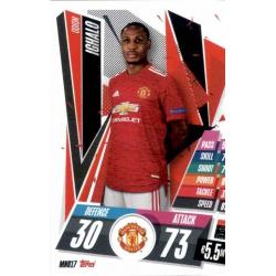 Odion Ighalo Manchester United MNU17 Match Attax Champions International 2020-21
