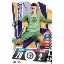 Kepa Arrizabalaga Chelsea CHE4 Match Attax Champions International 2020-21
