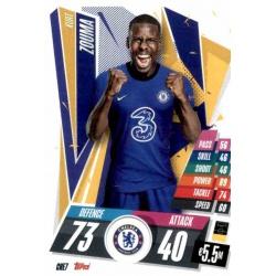 Kurt Zouma Chelsea CHE7 Match Attax Champions International 2020-21