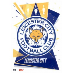 Escudo Leicester City LEI1 Match Attax Champions International 2020-21