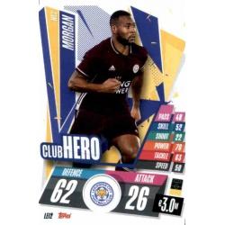 Wes Morgan Club Hero Leicester City LEI2 Match Attax Champions International 2020-21