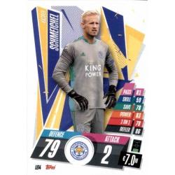 Kasper Schmeichel Leicester City LEI4 Match Attax Champions International 2020-21