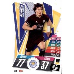Çaglar Soyuncu Leicester City LEI6 Match Attax Champions International 2020-21