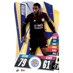 Ricardo Pereira Leicester City LEI7 Match Attax Champions International 2020-21