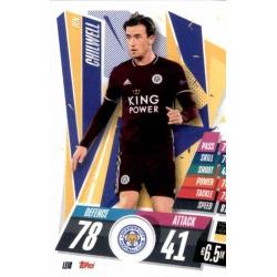 Ben Chilwell Leicester City LEI8 Match Attax Champions International 2020-21