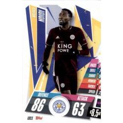 Wilfred Ndidi Leicester City LEI11 Match Attax Champions International 2020-21