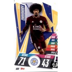 Hamza Choudhury Leicester City LEI12 Match Attax Champions International 2020-21