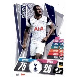 Davinson Sanchez Tottenham Hotspur TOT4 Match Attax Champions International 2020-21