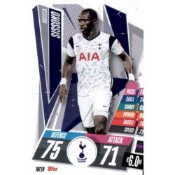 Moussa Sissoko Tottenham Hotspur TOT10 Match Attax Champions International 2020-21