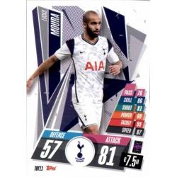 Lucas Moura Tottenham Hotspur TOT11 Match Attax Champions International 2020-21
