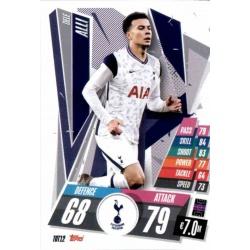 Dele Alli Tottenham Hotspur TOT12 Match Attax Champions International 2020-21