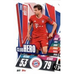 Thomas Muller Club Hero Bayern Munchen BAY2 Match Attax Champions International 2020-21