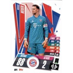 Manuel Neuer Bayern Munchen BAY4 Match Attax Champions International 2020-21