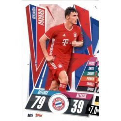 Benjamin Pavard Bayern Munchen BAY5 Match Attax Champions International 2020-21