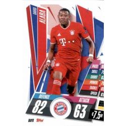 David Alaba Bayern Munchen BAY6 Match Attax Champions International 2020-21