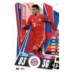 Lucas Hernandez Bayern Munchen BAY8 Match Attax Champions International 2020-21