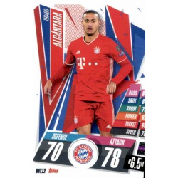 Thiago Alcantara Bayern Munchen BAY12 Match Attax Champions International 2020-21