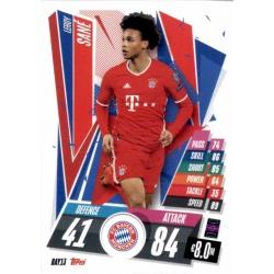 Leroy Sane Bayern Munchen BAY13 Match Attax Champions International 2020-21