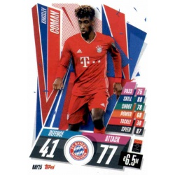 Kingsley Coman Bayern Munchen BAY15 Match Attax Champions International 2020-21