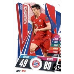 Robert Lewandowski Bayern Munchen BAY17 Match Attax Champions International 2020-21