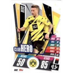 Marco Reus Club Hero Borussia Dortmund DOR2 Match Attax Champions International 2020-21