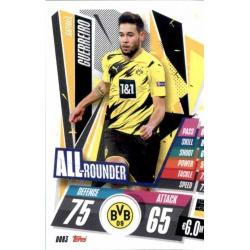Raphael Guerrero All Rounder Borussia Dortmund DOR3 Match Attax Champions International 2020-21