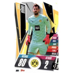 Roman Burki Borussia Dortmund DOR4 Match Attax Champions International 2020-21