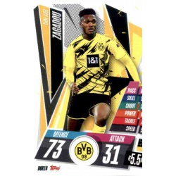 Dan-Axel Zagadou Borussia Dortmund DOR10 Match Attax Champions International 2020-21