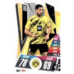 Emre Can Borussia Dortmund DOR12 Match Attax Champions International 2020-21