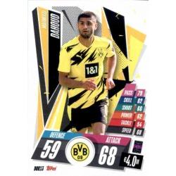 Mahmoud Dahoud Borussia Dortmund DOR13 Match Attax Champions International 2020-21