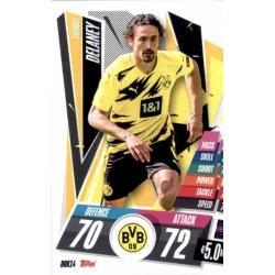 Thomas Delaney Borussia Dortmund DOR14 Match Attax Champions International 2020-21