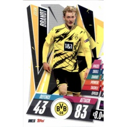 Julian Brandt Borussia Dortmund DOR16 Match Attax Champions International 2020-21