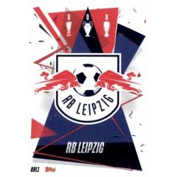 Escudo RB Leipzig RBL1 Match Attax Champions International 2020-21