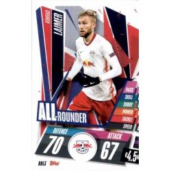 Konrad Laimer All Rounder RB Leipzig RBL3 Match Attax Champions International 2020-21