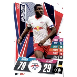 Dayot Upamecano RB Leipzig RBL5 Match Attax Champions International 2020-21