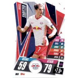 Marcel Sabitzer RB Leipzig RBL8 Match Attax Champions International 2020-21