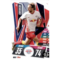 Emil Fosberg RB Leipzig RBL10 Match Attax Champions International 2020-21