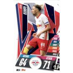 Kevin Kampl RB Leipzig RBL14 Match Attax Champions International 2020-21
